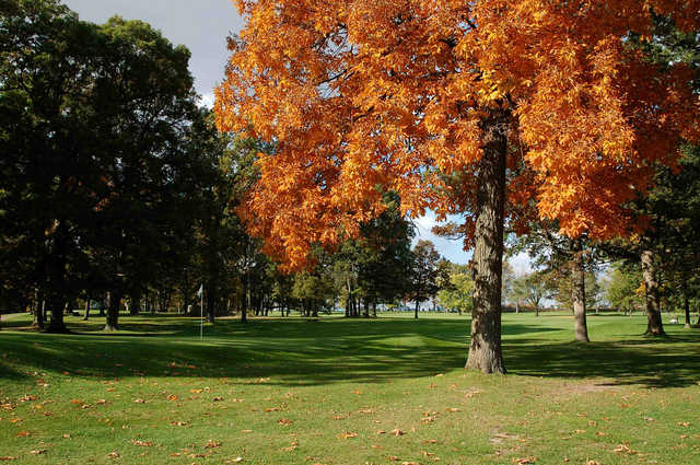 A view of a hole at West Lafayette Golf & Country Club