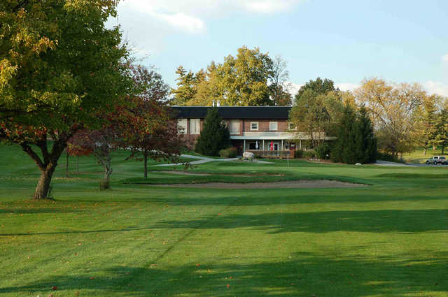 A sunny day view from West Lafayette Golf & Country Club