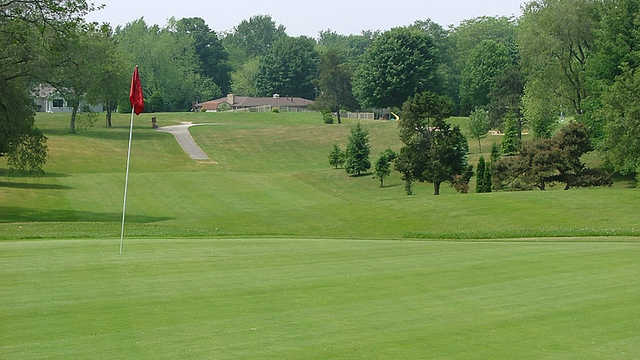 A view of the 4th green at Legacy Hills Golf Club