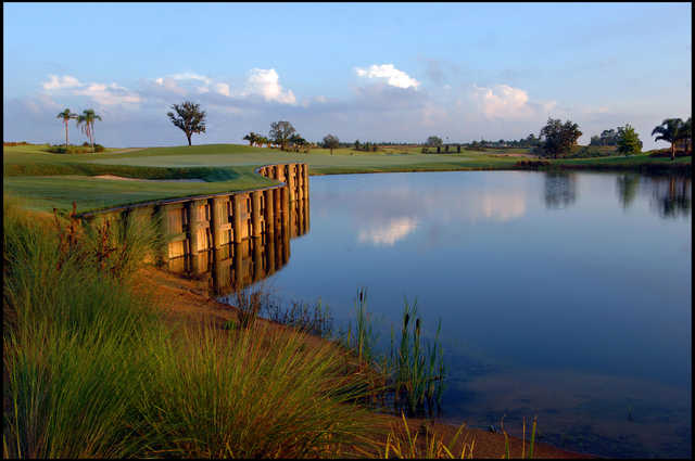 View of the 14th hole from the Nicklaus Course at Reunion Resort
