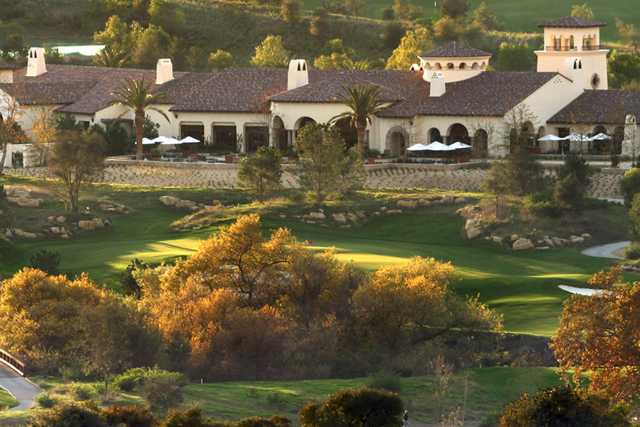 A sunny day view from Shady Canyon Golf Club