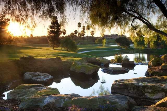 A sunny view from Aliso Viejo Country Club