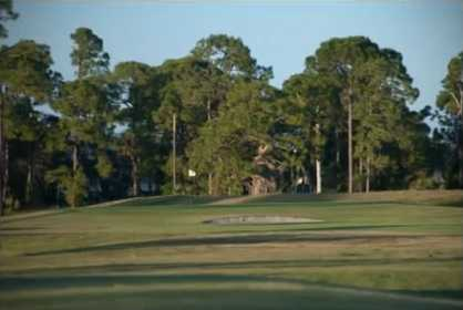A view of a green at Riverbend Golf Course