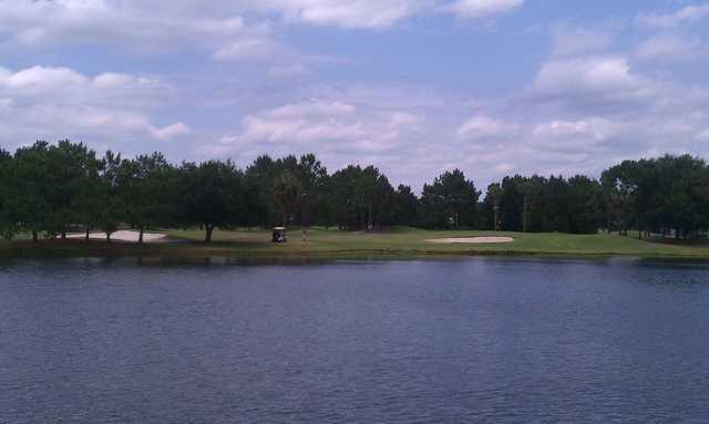 A view over the water from Countryway Golf Club