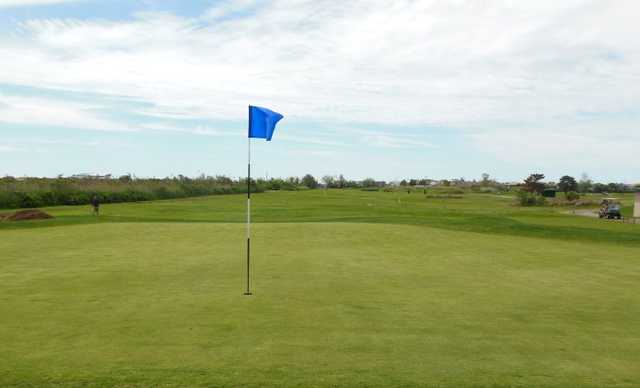 A view of the 12th hole at Lido Golf Club