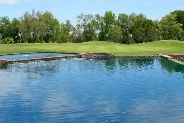 A view over the water from Tracy Golf & Country Club