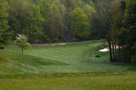 A view of a fairway at RedTail Mountain Golf Club