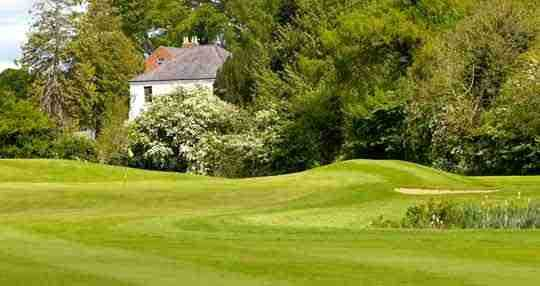The Edenderry course is the hilliest of the three nines at Malone Golf Club.