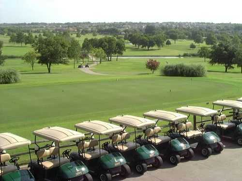 A view from Rockwall Golf and Athletic Club