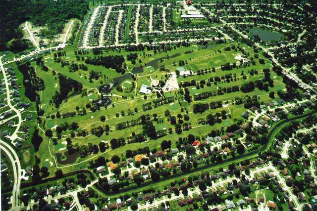 Aerial view of Riverlands Golf & Country Club