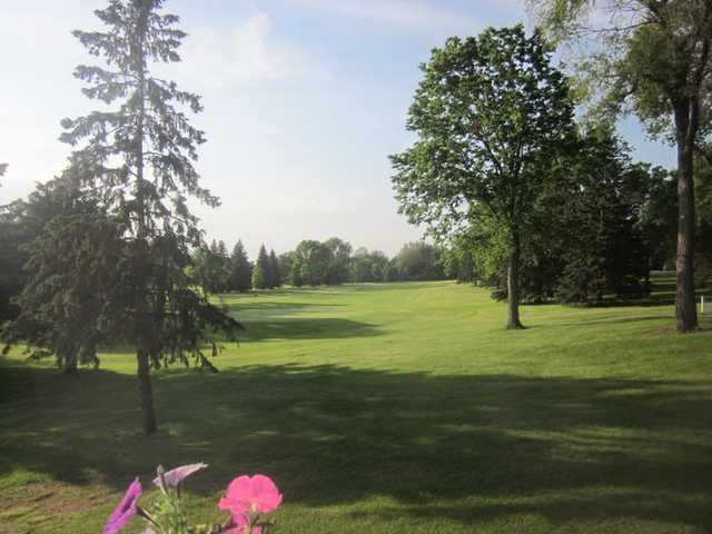 A view of a fairway at Hayden Hills Golf Course