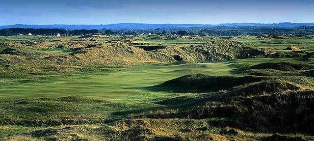 A view from hole #14 at County Louth Golf Club
