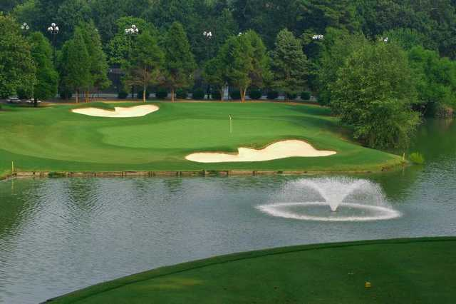 A view from a tee at North from Raintree Country Club