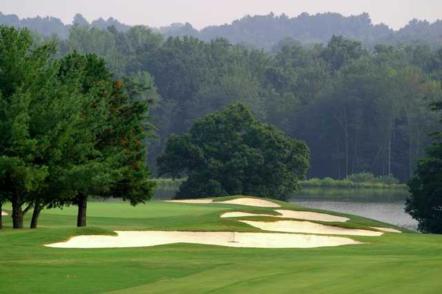A view from North at Raintree Country Club