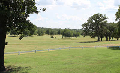 A sunny day view from Henryetta Golf & Country Club