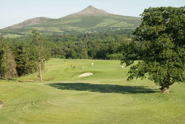 A view from West Course at Powerscourt Golf Club