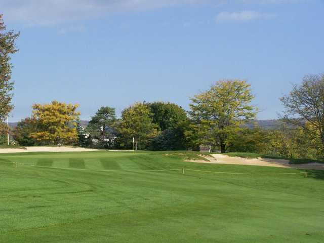 A view of the 7th green at Armitage Golf Course