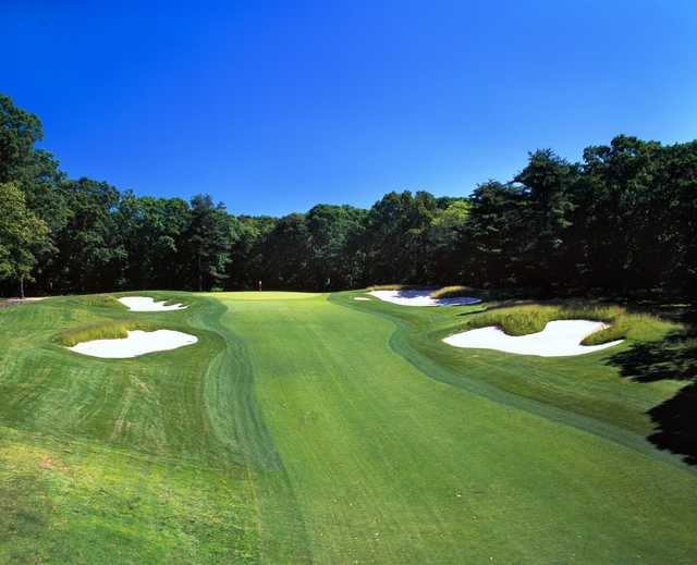 A view from fairway #5 at Red from Bethpage State Park Golf Course