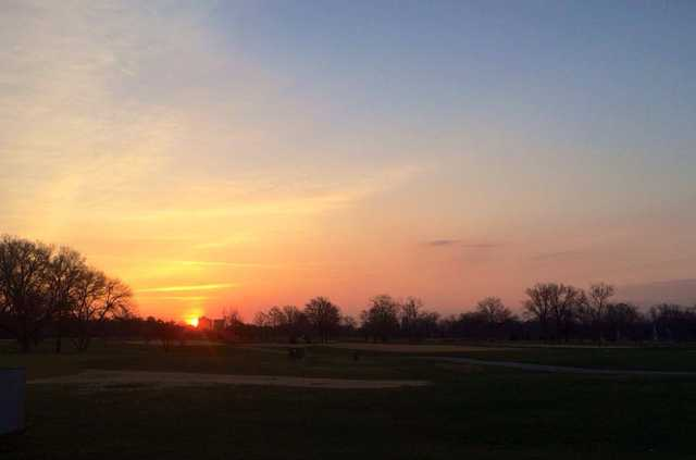 A view from Forest Park Golf Course