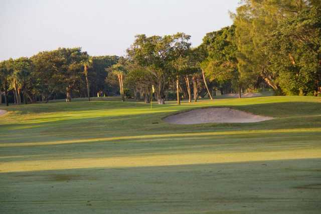 A view of the 11th green at Sanibel Island Golf Club