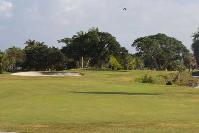 A view of the 16th hole at Sanibel Island Golf Club