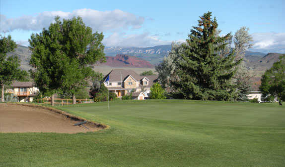 A view of a green at Olive Glenn Golf & Country Club