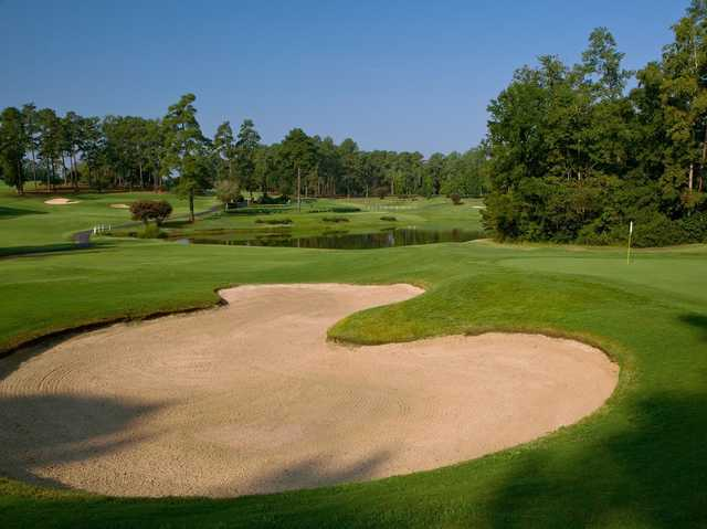 A view from Forest Hills Golf Club