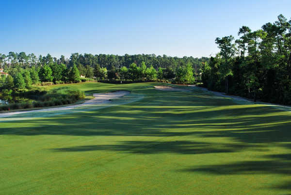A view of the hole #14 at Orange Lake Resort - The Legends Course