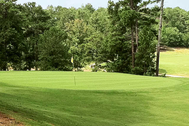 A view of a hole at West Pines Golf Club