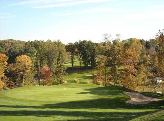 A view of the 7th hole at Pheasant Ridge Golf Club