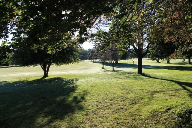 A view of a fairway at South Park Golf Course