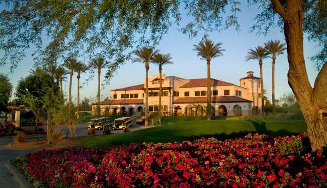 A view of the Clubhouse at The Legacy Golf Club