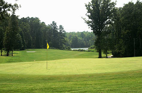 A view of hole #7 from Bear Trace at Harrison Bay State Park