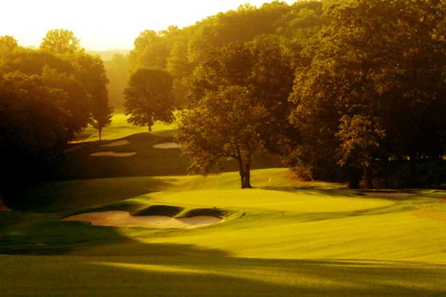 A view of a green at Signal Mountain Golf & Country Club