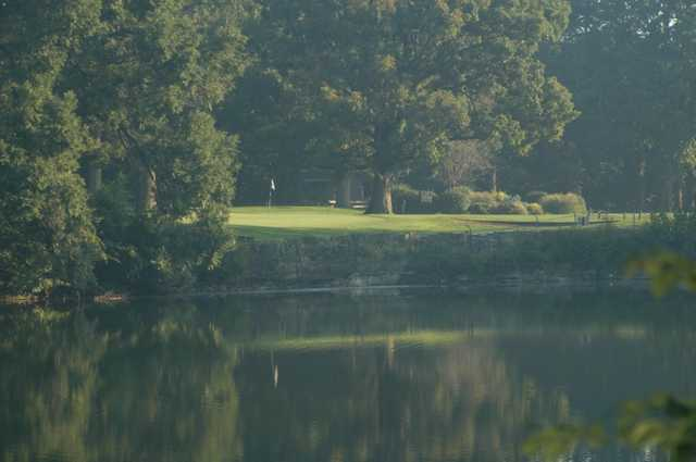 A view over the water from Bowling Green Country Club