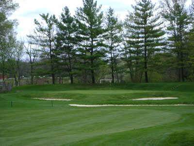A view of a green at Bowling Green Country Club