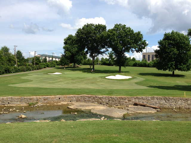 A view of the 3rd green at Bluegrass Yacht & Country Club (Tyler Ingram)