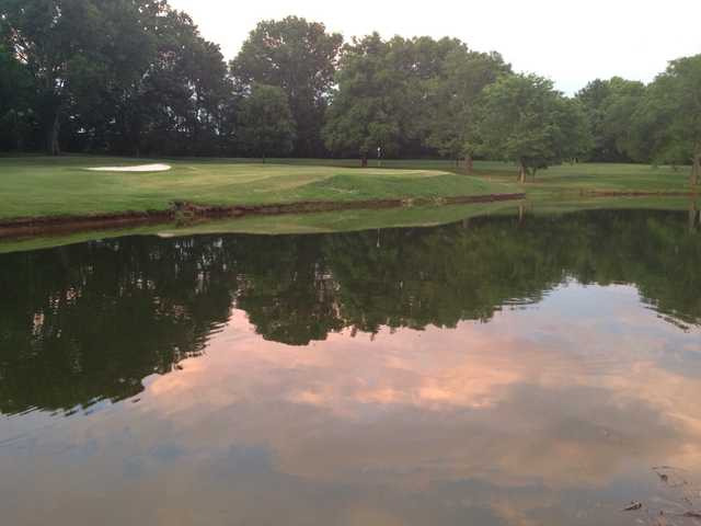 A view over the water from Bluegrass Yacht & Country Club