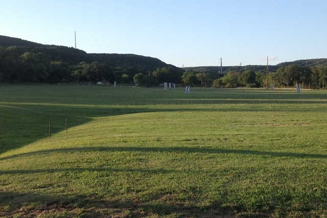 A view from Oak Valley Driving Range & Par 3
