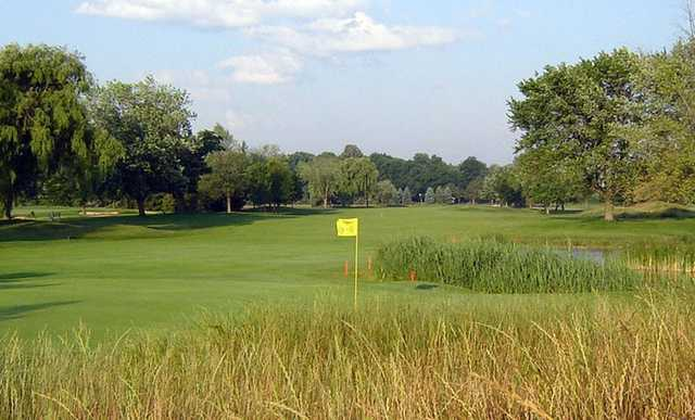 A view of a green at Trafalgar Golf and Country Club