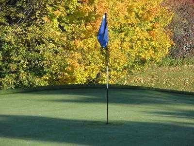 A view of a hole at Deer Creek South Course (Elli Davis)