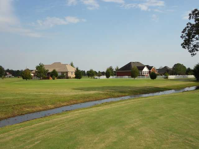 A view from Southern Gayles Golf Course