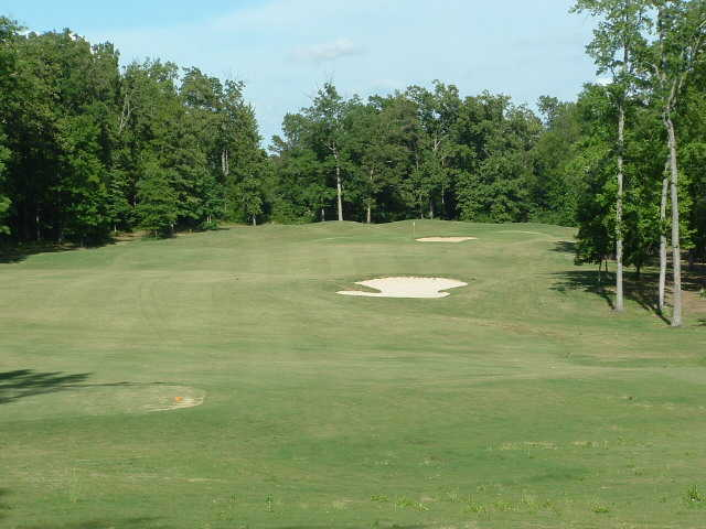 A view of the 6th fairway at Chairman's Course from First Tee of Central Arkansas