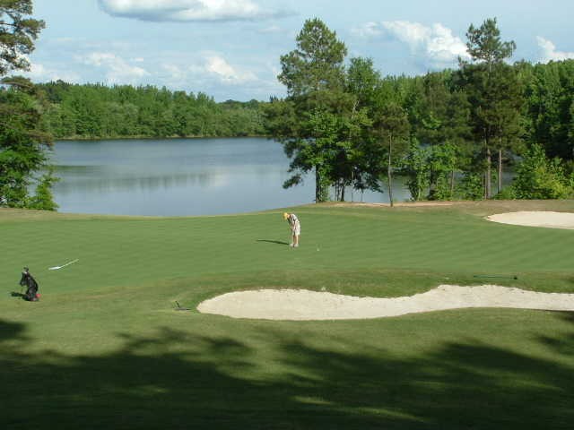 A view of hole #8 at Chairman's Course from First Tee of Central Arkansas