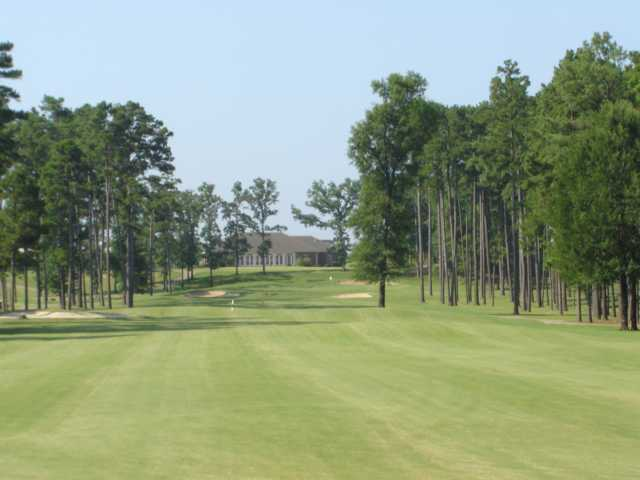 A view from a fairway at Country Club of Arkansas