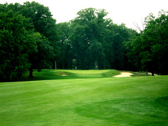View of the 13th hole at Jeffersonville Golf Club