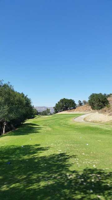 View from the 16th tee box at Elkins Ranch Golf Course