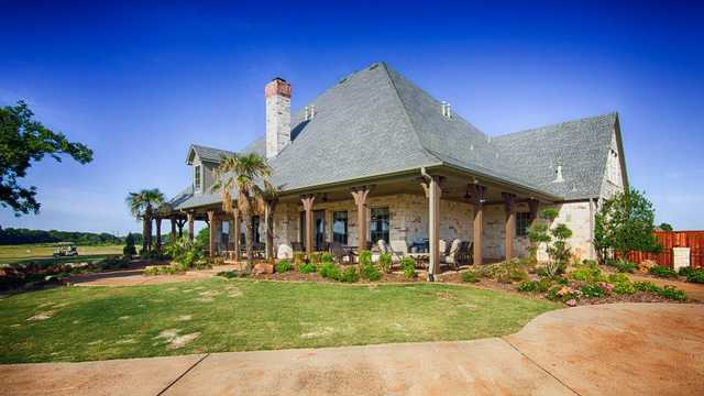 Southern Oaks GC: The clubhouse