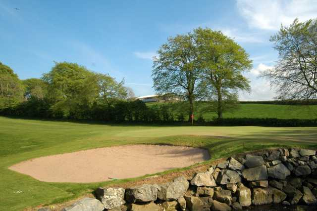 A view of the 3rd green at Ballyclare Golf Club