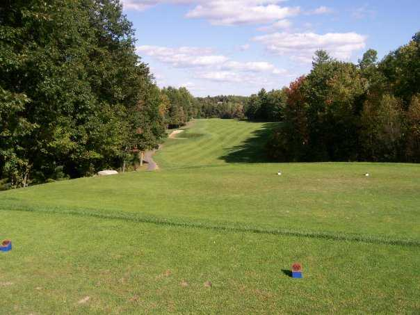 A view from tee #1 at Windham Country Club